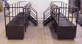 Catwalk tanks