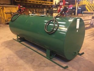 1,000 Gallon Fuel Fill Tank