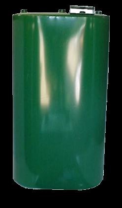 330 gallon vertical obround tank