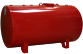 500 Gallon SW Horizontal Round Tank