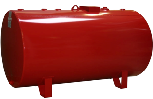 500 Gallon SW Horizontal Round Tank