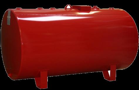 500 SW Horizontal Round Tank