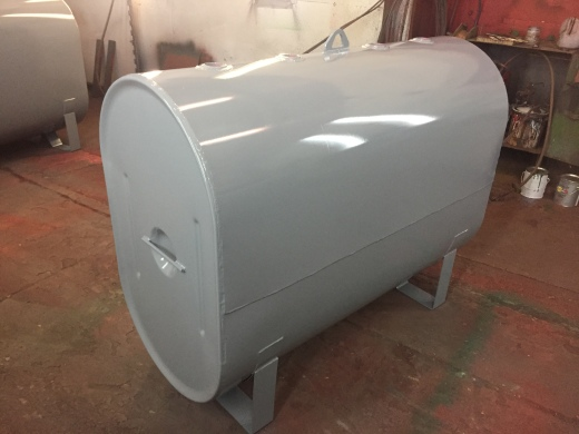 275 Obround Heat Tank with supports