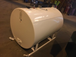 500 Gallon DW Skid Tank